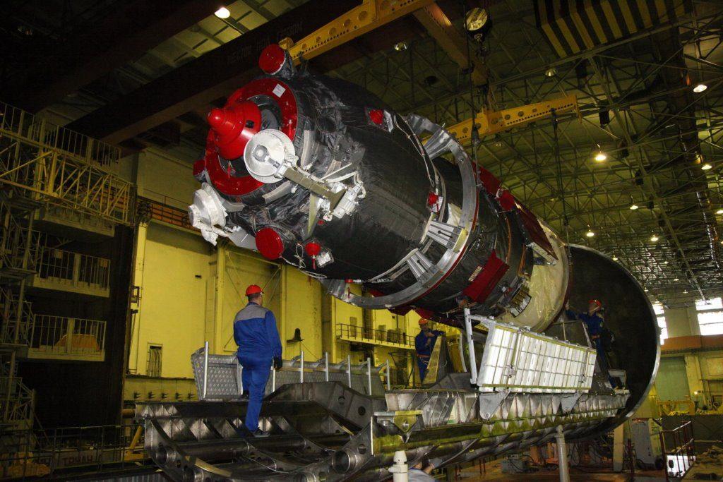 Космический корабль новой модификации Союз МС
